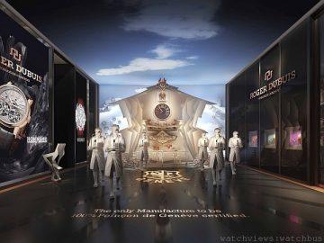 ROGER DUBUIS羅杰杜彼於2014年WATCHES&WONDERS「鐘錶與奇跡」亞洲高級鐘錶展綻放耀眼光芒