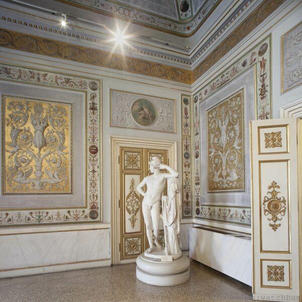 由萬寶龍資助重新整修專門展出卡諾瓦雕塑作品的威尼斯科雷爾博物館Vedute展示廳
