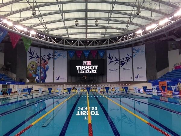 最佳夥伴:天梭表以官方指定時計身分伴第17屆仁川亞運精彩開幕