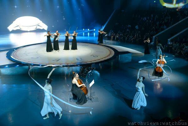 上海萬寶龍寶曦盛宴上,由陣容強大的管弦樂團與舞者們,交織出令人心醉的優美演出。
