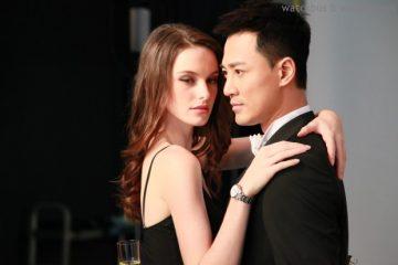 林峯化身浪漫王子與女模合演小綿羊情緣,全新平面廣告為依波路表演繹超凡復古風