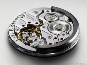 讓機芯一覽無遺的Peripheral winding rotor 週邊上鍊自動陀