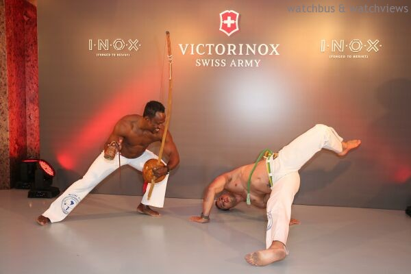 活動以嶄新的「巴西柔術Capoeira X MMA」表演揭開序幕。