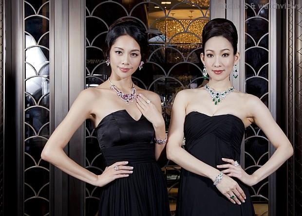 平衡對稱的恢宏結構 瑰麗凝萃璀璨鑽光:格拉夫珠寶「奢華邂逅•永恆珍求」高級珠寶驚艷台灣