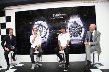 尼科•羅斯伯格、路易斯•漢米爾頓與IWC萬國錶聯袂推出工程師計時腕錶專屬個性特別版