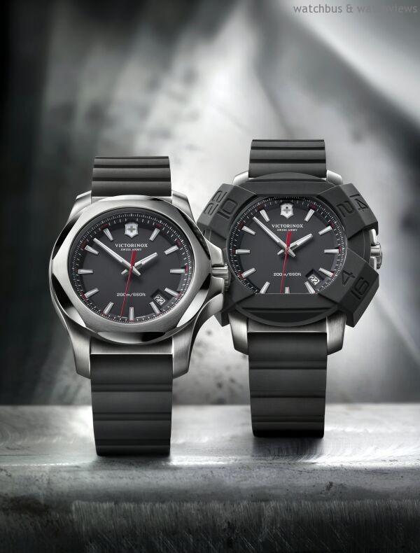 瑞士維氏體現「同行相伴,見證人生」的品牌精神,將產品系列拓廣至多元生活用品,腕錶、旅行箱、服裝及香水等。圖為2014年新款INOX腕錶。
