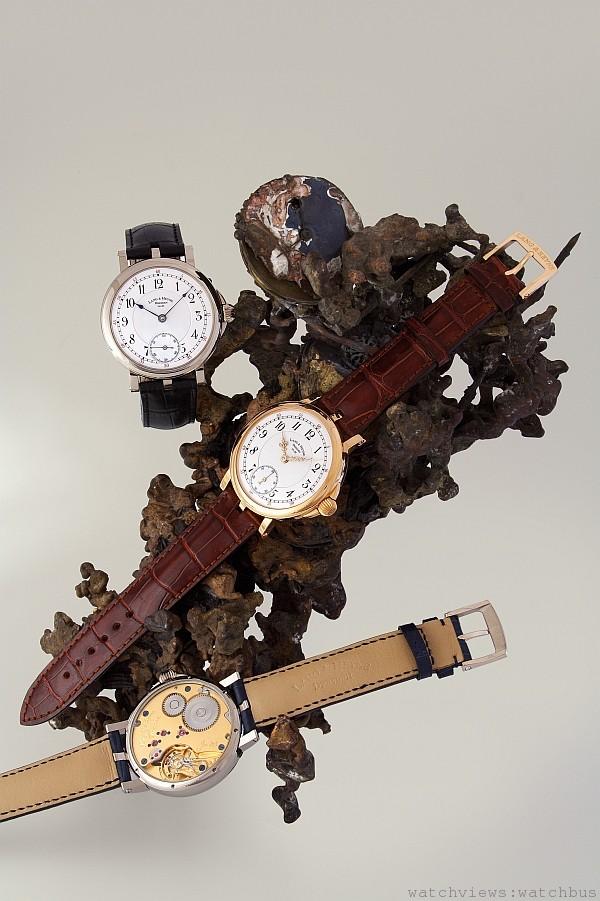 Lange & Heyne非常的年輕卻很有工藝內涵,由兩位製錶師Marco Lange與Mirko Heyne於2001年所創立