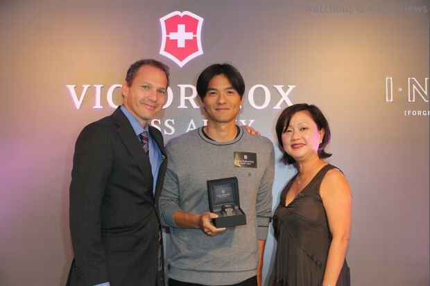 終極強悍體現極致功能:Victorinox Swiss Army於香港發佈全新 INOX腕錶