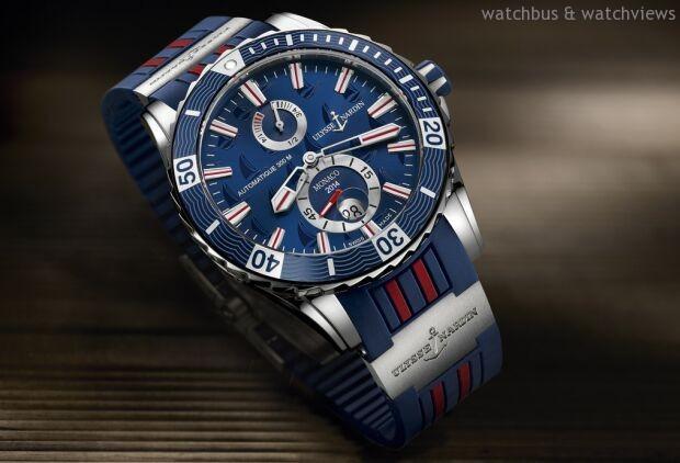 榮膺2014摩納哥遊艇展官方贊助商,ULYSSE NARDIN雅典錶推出摩納哥航海潛水限量腕錶