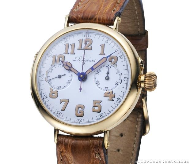 揭開101年的時光奧秘:浪琴1913首款手上鍊導柱輪計時碼錶暨博物館藏 台灣首展