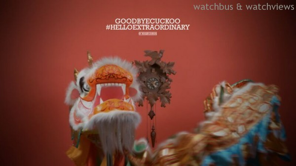 為迎接本年Watches&Wonders,Roger Dubuis特別製作GoodbyeCuckoo, #Helloextraordinary影片。