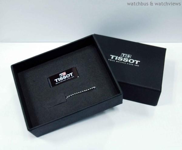天梭表名品店週年慶期間,購錶滿NT$25,000即贈TISSOT天梭表獨家8G USB各乙個。
