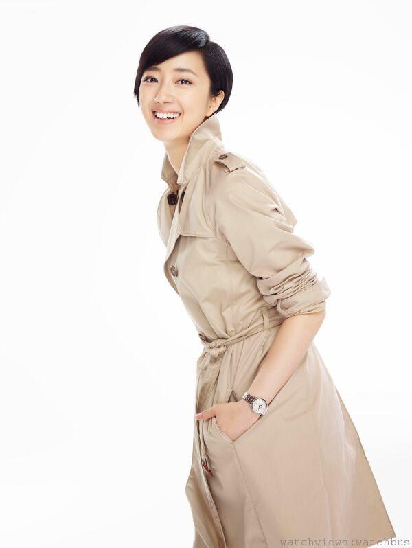 萬寶龍中國區品牌大使桂綸鎂以其獨特知性氣質,完美演繹全新萬寶龍寶曦女仕系列。