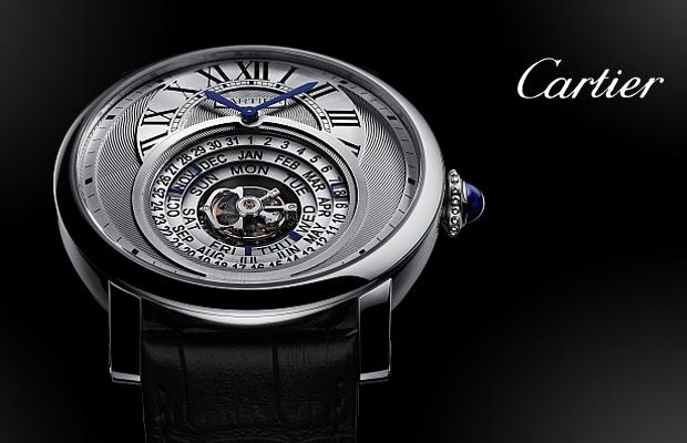 卡地亞2014年高級製錶系列──Rotonde de Cartier Astrocalendaire天體運轉式萬年曆腕錶