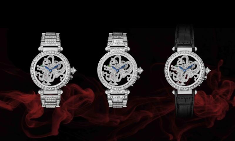 龍之傳奇:2014 W&W Cartier再展非凡鐘錶創意