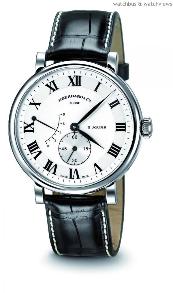 8 Jours Grande Taille腕錶精鋼款,建議售價NT$158,000