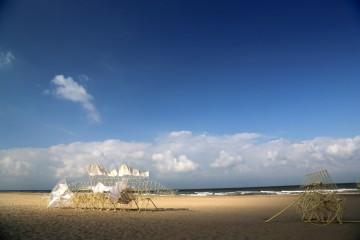 Theo Jansen的「海灘動物」登陸邁阿密海灘巴塞爾藝術展,由愛彼與皮博迪埃塞克斯博物館特別呈獻