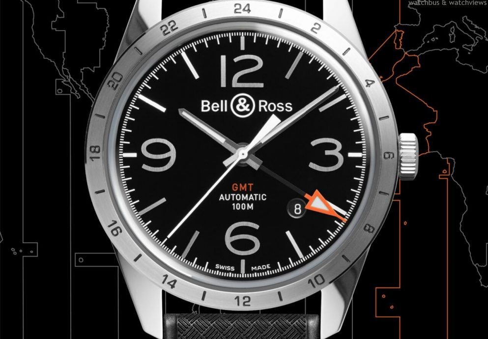 Bell & Ross全新推出BR 123 GMT 24H 兩地時間腕錶
