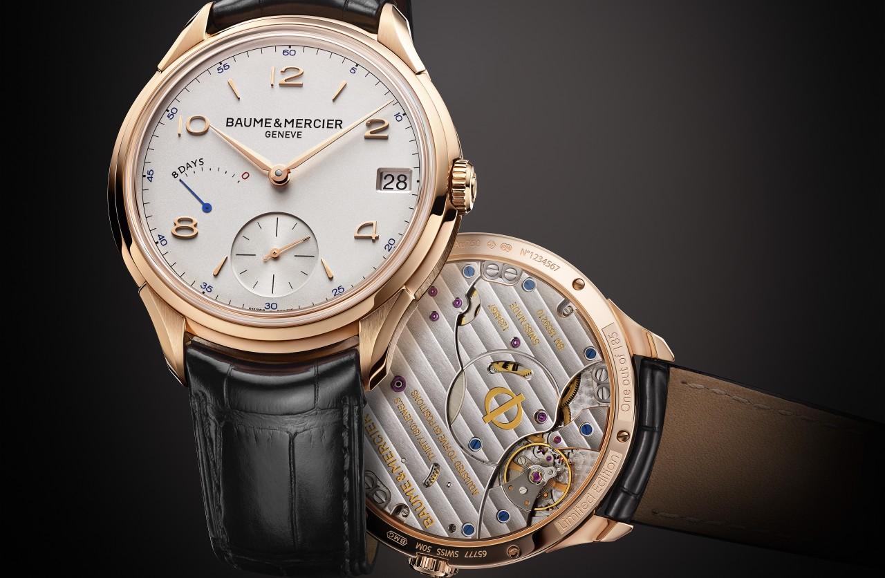 [2014 W&W ]時光之鑰:名士Baume & Mercier克里頓系列八日動力儲存腕錶