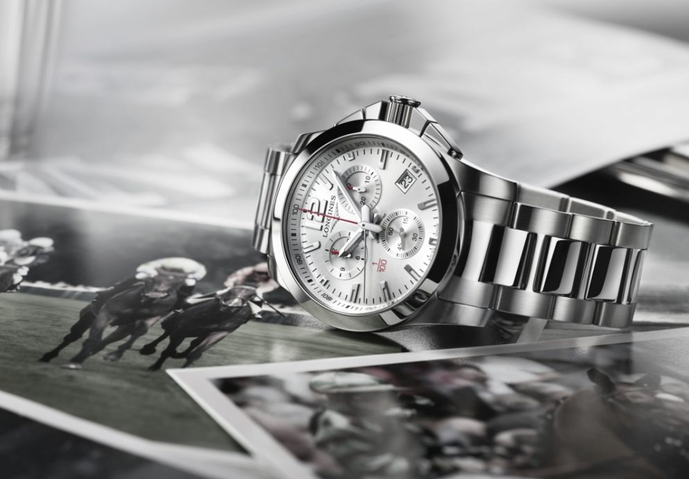 浪琴表透過征服者 1/100th 馬術計時碼錶,持續發揚馬術運動計時傳統