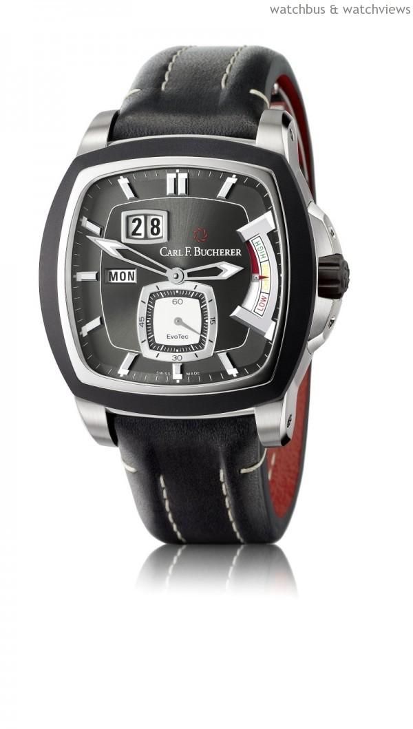 柏拉維EvoTec PowerReserve動力儲存腕錶,建議售價NTD484,000。