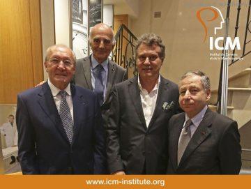 F.P.JOURNE 十年間  一直支持醫學研究院ICM的工作