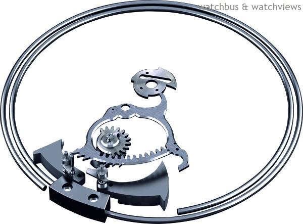 三問錶的音簧和報刻裝置