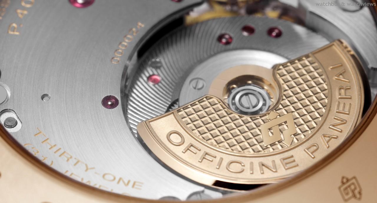 [2014 W&W] 純粹嚴謹的意大利設計與搭載偏心式擺陀的新款自製自動機芯:RADIOMIR 1940 3 DAYS AUTOMATIC –45毫米3日動力儲存自動腕錶