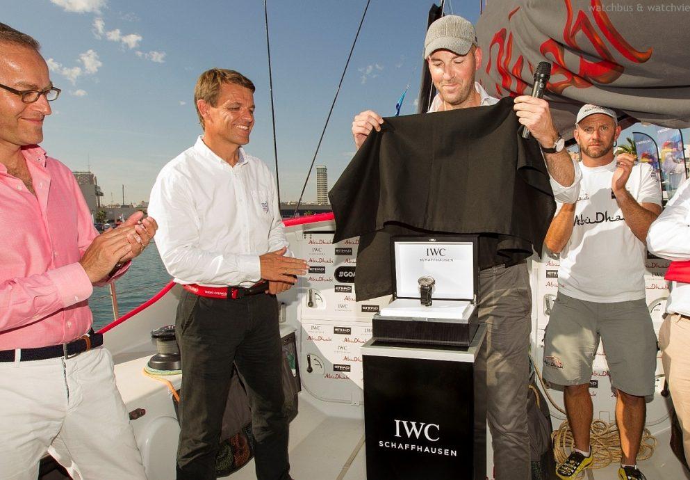 IWC推出葡萄牙航海精英計時腕錶「海洋勇士」特別版,慶祝富豪環球帆船賽揚帆啟航