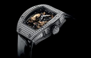 [2014 W&W] Richard Mille推出RM 51-01 MICHELLE YEOH楊紫瓊龍虎陀飛輪腕錶
