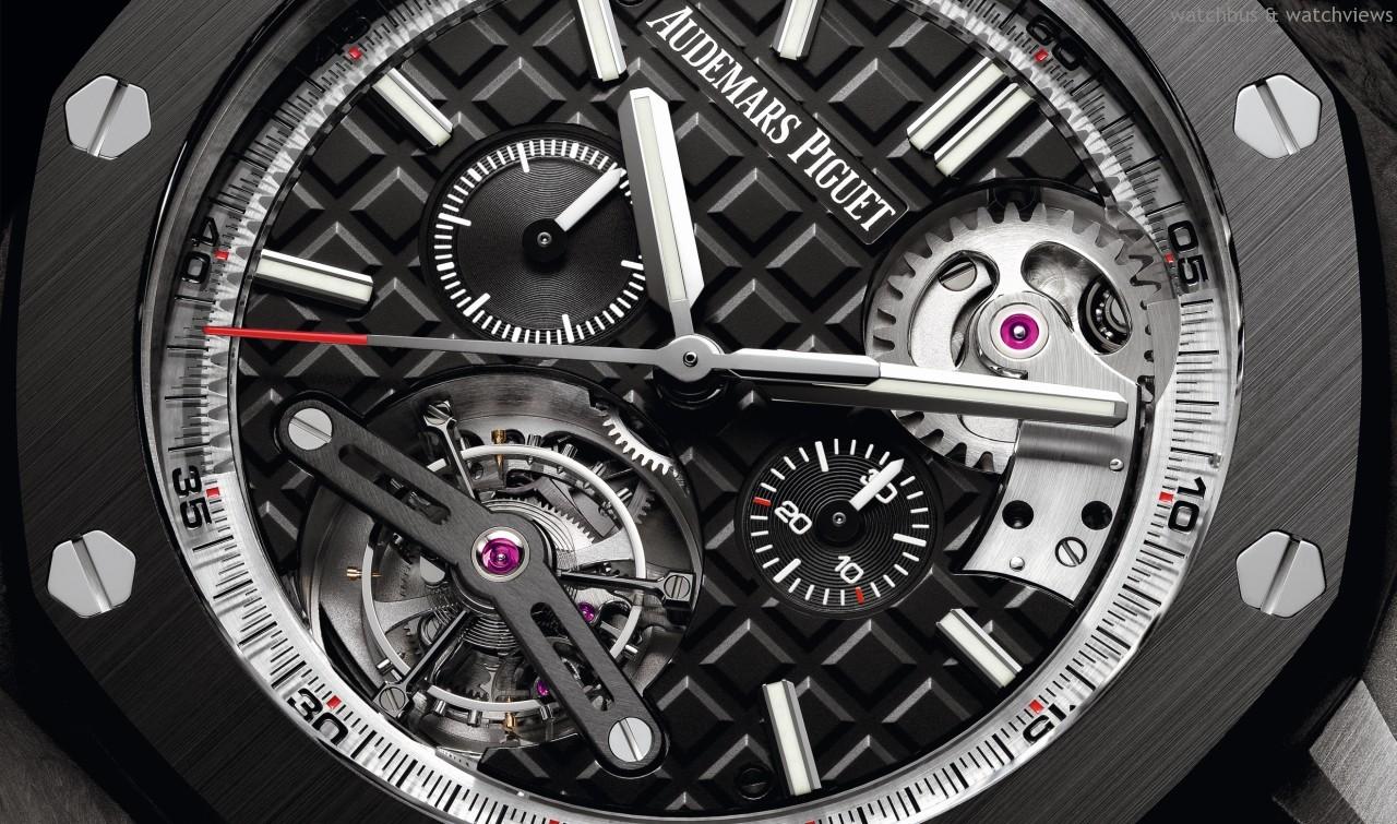 [2014 W&W] 愛彼發表皇家橡樹離岸型自動上鍊陀飛輪計時碼錶