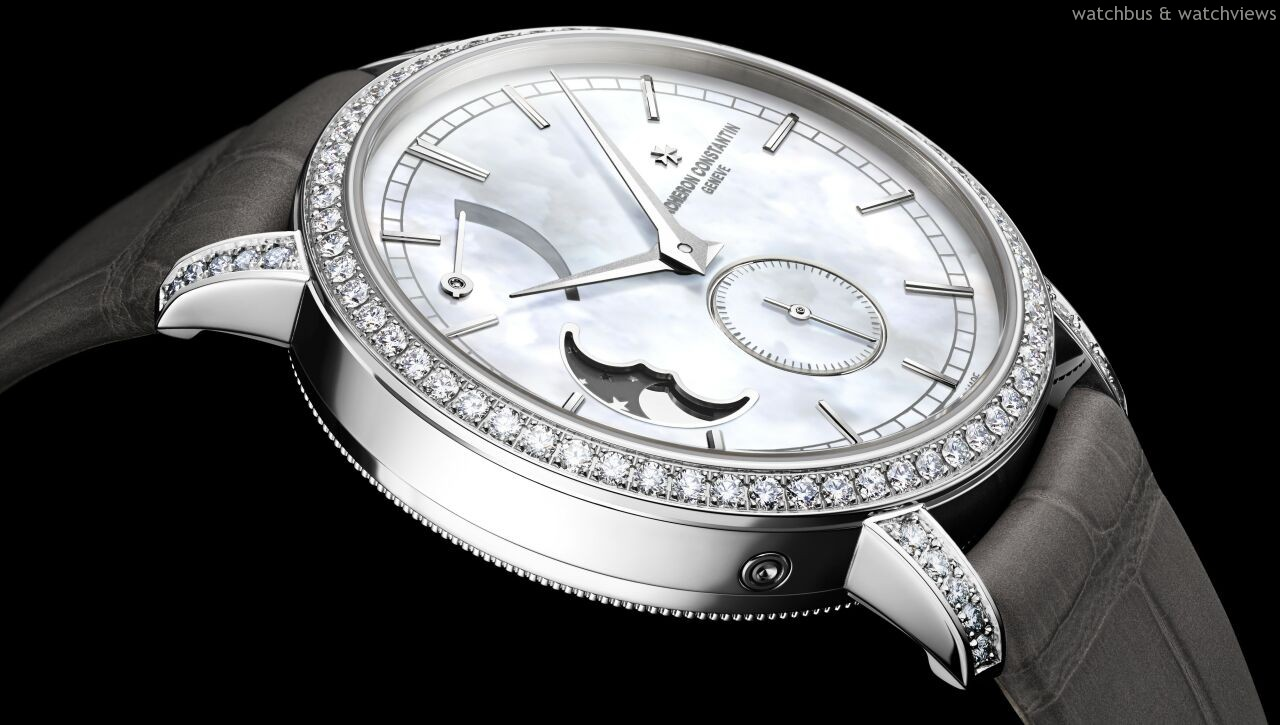 [2014 W&W] 譜寫女士腕錶的優雅詩篇:江詩丹頓Traditionnelle月相盈虧動力儲存小型號腕錶