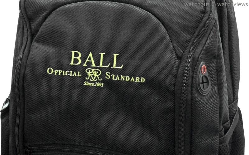 11月起至12月底止購買BALL Watch 任一錶款,即贈雙肩背包一個