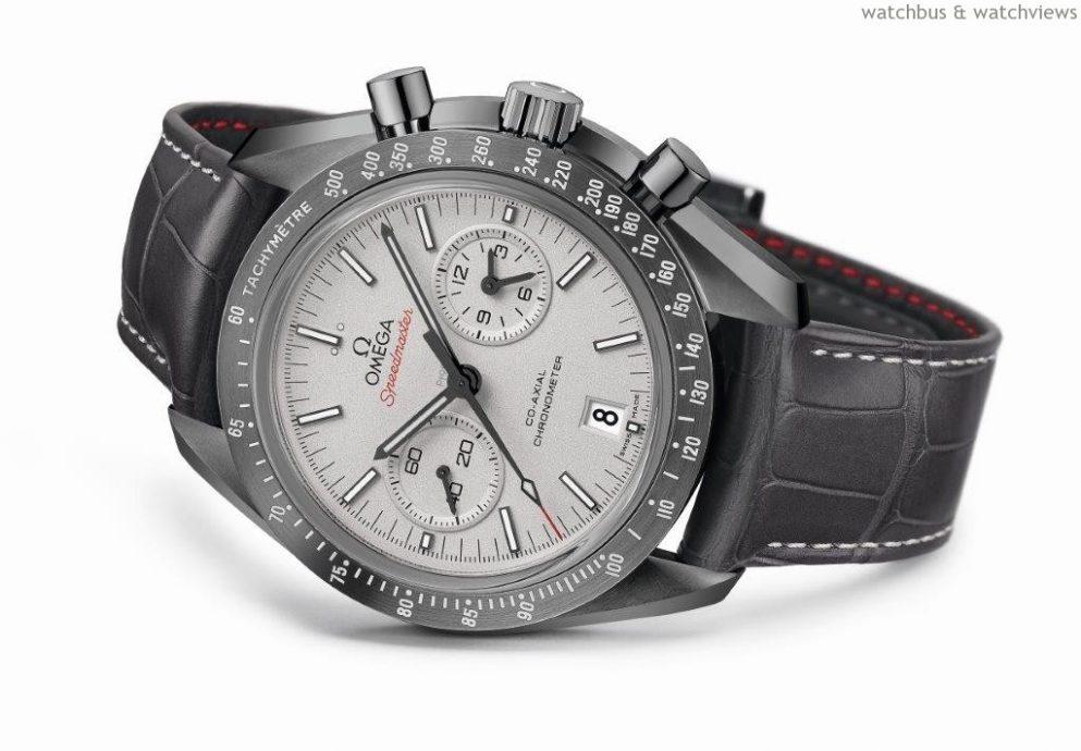 慶祝太空傳承 OMEGA歐米茄推出超霸「月之灰面」腕錶  運用純陶瓷材質與鉑金錶盤打造全新的時計傑作