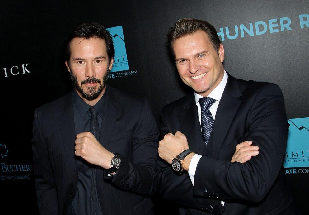 寶齊萊品牌大使 Chad Stahelski 與 David Leitch 攜手執導之捍衛任務《John Wick》於紐約隆重首映