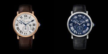 [2014 W&W]活力激揚:Cartier發表Rotonde de Cartier晝夜顯示雙時區腕錶,搭載1904-FU MC型機芯