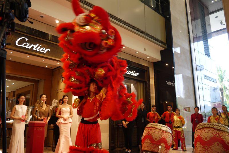 林依晨「有喜」 樂當卡地亞台南新光三越西門專賣店開幕嘉賓