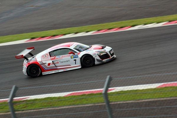 台灣賽車手李勇德代表「Audi Taiwan」挑戰Audi R8 LMS Cup。
