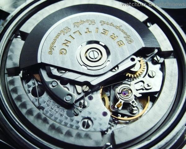 Breitling以7750為基礎的計時碼錶機芯悉數通過C.O.S.C.認證,具有相當的水準。