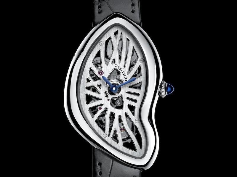 Pre-SIHH 2015:Cartier全新Crash鏤空手上鍊腕錶、Rotonde de Cartier年曆錶、Rotonde de Cartier Reversed 陀飛輪腕錶