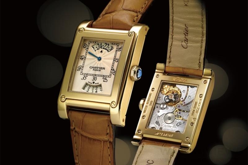 Cartier Tank à Vis Jumping Hour CPCP卡地亞巴黎經典系列跳時日曆腕錶
