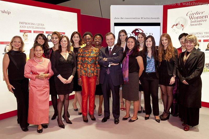 靈感改變世界:卡地亞靈思湧動女性創業家獎2014年得獎者名單出爐