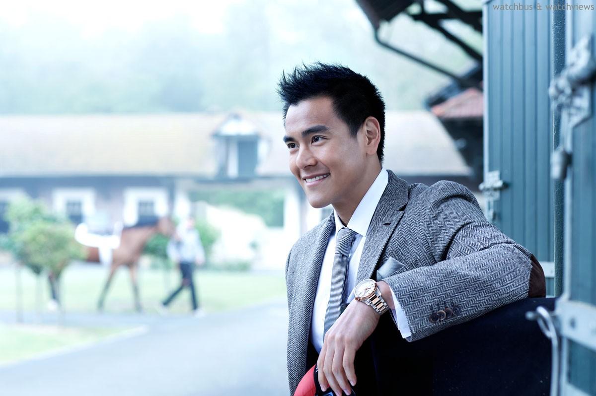 優雅形象大使彭于晏助陣,2014年浪琴表新加坡金杯賽籌集善款,捐助身心障礙兒童與青少年社會服務