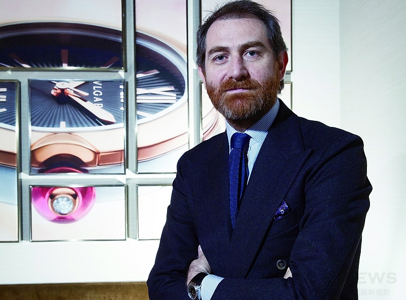 【人物專訪】寶格麗腕錶設計高級總監Fabrizio Buonamassa