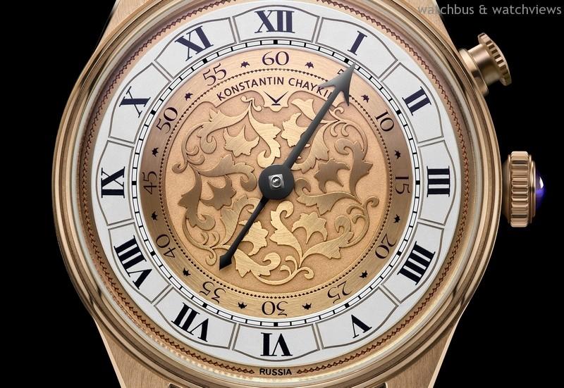 一瞬變奏:俄羅斯獨立製錶師Konstantin Chaykin發表Genius Temporis單針指示時、分腕錶