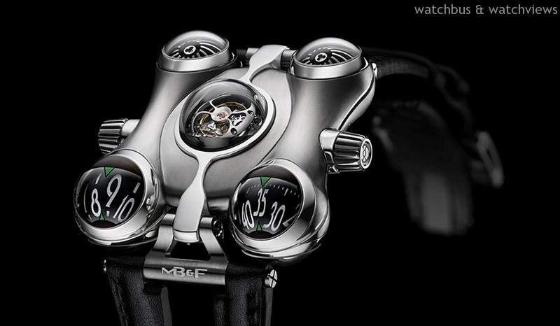 飛馳在閃爍的星際:MB&F發表Horological Machine No.6 「Space Pirate」 腕錶,專為太空逆境量身打造