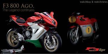 義大利傳奇車手Giacomo Agostini騎乘千萬重機MV AGUSTA GP500現身北台灣
