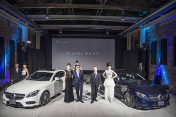 Mercedes-Benz勁臻完美 耀眼於型:The new CLS Coupé/Shooting Brake