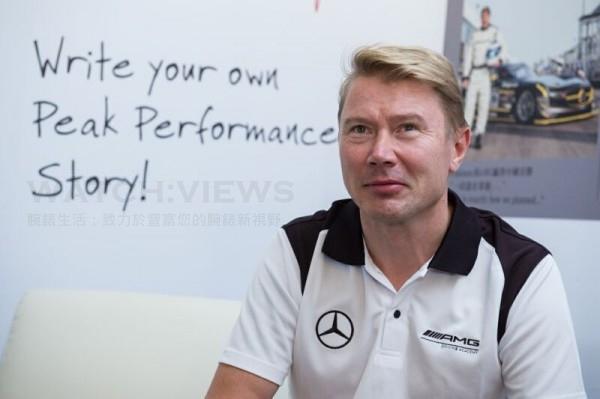 F1傳奇車手Mika Häkkinen化身AMG品牌大使旋風訪台