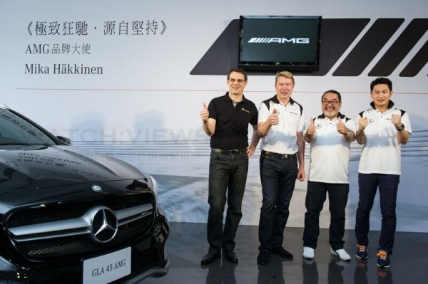 Mercedes-Benz邀請兩屆F1方程式賽車世界冠軍Mika H_kkinen擔任AMG品牌大使,將AMG駕馭性能品牌內涵帶給廣大台灣車主及車迷